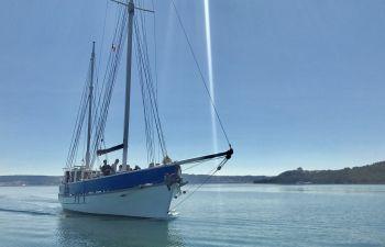 Journée bateau sur un ancien thonier en rade de Marseille