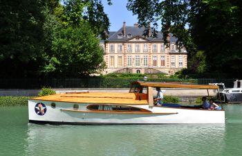 Croisière privatisée sur la Marne, près de Reims