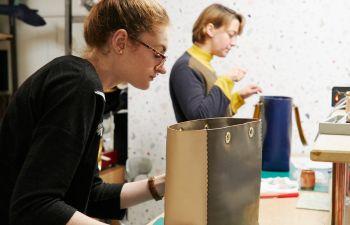 Atelier maroquinerie : créer son sac cabas