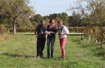 Jeu de piste dans un domaine viticole près de Bordeaux