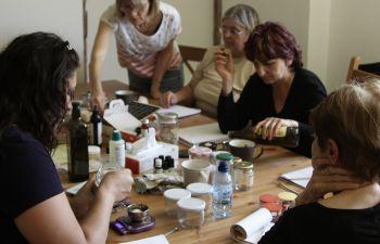 Atelier fabrication de cosmétiques naturels