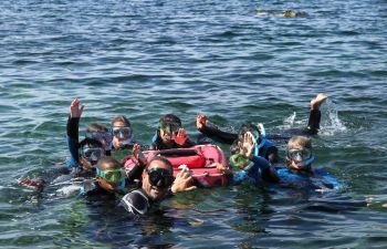 Jeu de piste aquatique pour enfants dans le massif de l'Estérel