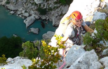 Vivez l'aventure des Gorges du Verdon en via cordata !