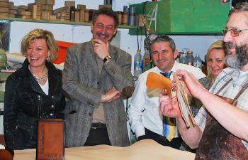 Rencontre avec un Artisan Cuir et visite de son atelier à Dunkerque