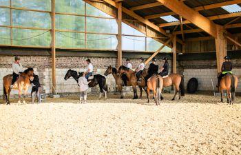 Découverte de l'équitation aux abords de la Baie de Somme