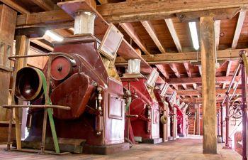 Tous les secrets d'une minoterie en état de marche, près de Libourne